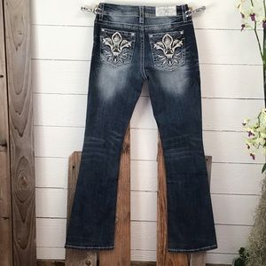 Miss Me Mid Rise Easy Boot Jeans NWT